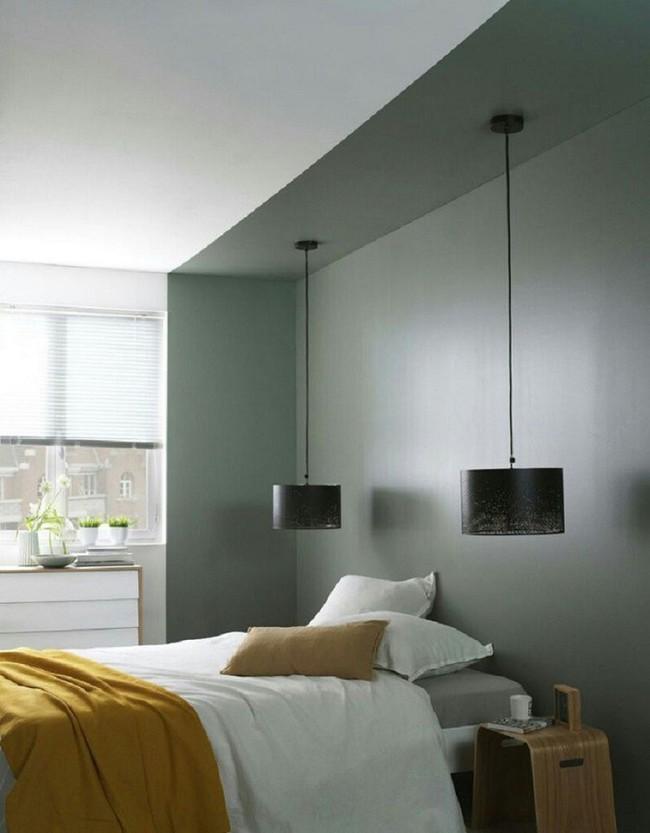Nếu không muốn đụng hàng bạn có thể kết hợp màu sắc phòng ngủ theo phong cách không giống ai - Ảnh 5.