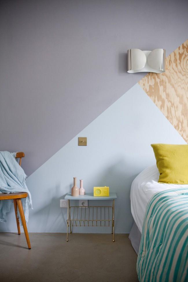 Nếu không muốn đụng hàng bạn có thể kết hợp màu sắc phòng ngủ theo phong cách không giống ai - Ảnh 6.