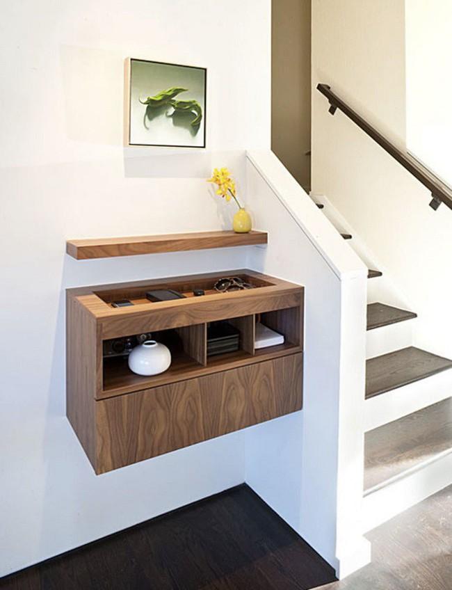 Những góc chết trong nhà vẫn cực hữu ích nếu bạn biết cách thiết kế   - Ảnh 7.