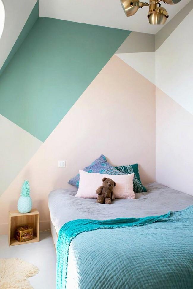 Nếu không muốn đụng hàng bạn có thể kết hợp màu sắc phòng ngủ theo phong cách không giống ai - Ảnh 9.