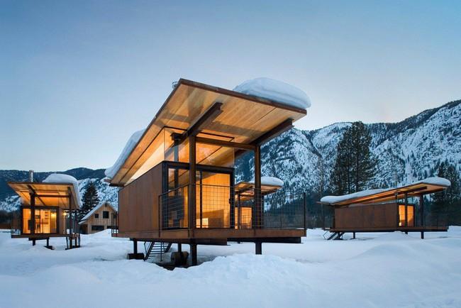 Giới mộ điệu trầm trồ với danh sách 21 thiết kế nhà siêu nhỏ ẩn mình giữa thiên nhiên với khí hậu khắc nghiệt - Ảnh 1.