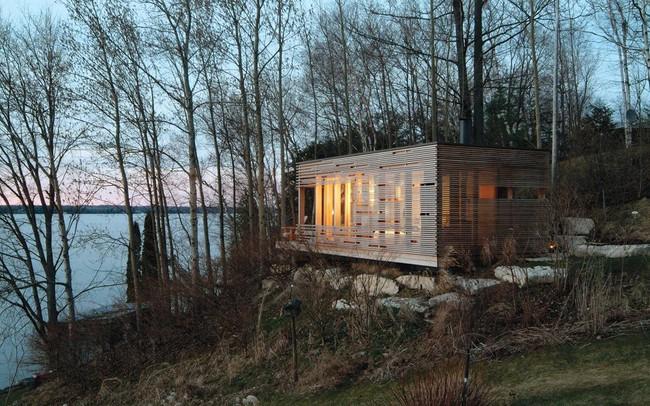 Giới mộ điệu trầm trồ với danh sách 21 thiết kế nhà siêu nhỏ ẩn mình giữa thiên nhiên với khí hậu khắc nghiệt - Ảnh 9.
