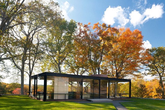Những ngôi nhà dưới tán lá vàng lãng mạn như một bức tranh phong cảnh tuyệt đẹp - Ảnh 8.