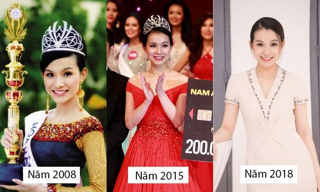 Bất ngờ trước nhan sắc 10 năm không đổi của HH Thùy Lâm, fan càng ngỡ ngàng hơn với làn da mộc mạc của nàng Hậu ngoài 30 này - Ảnh 4.