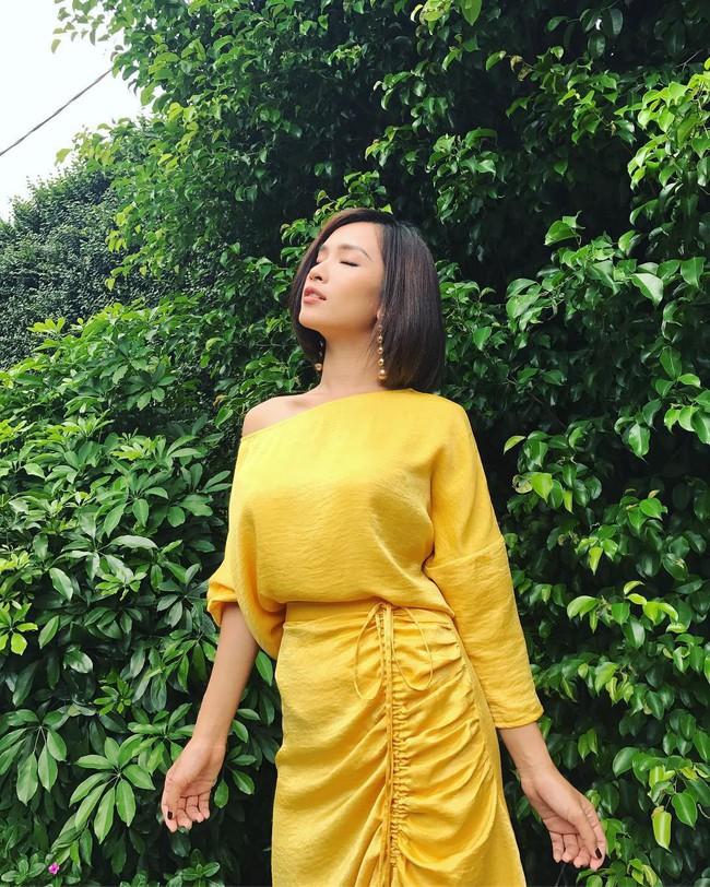 Muốn thành cao thủ mặc đẹp? Bạn hãy nhìn cách H'Hen Niê, Bảo Anh và Ái Phương cùng diện 1 chiếc váy - Ảnh 3.