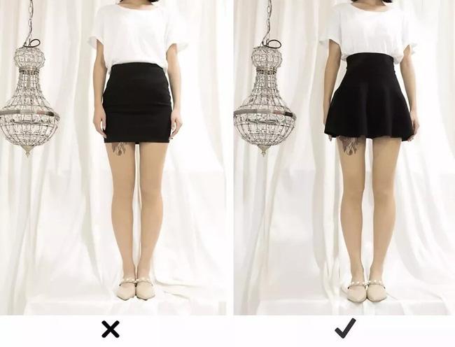 """Đùi to hay chân cong không còn đáng sợ nếu bạn biết bí kíp chọn ra kiểu váy """"nịnh dáng"""" nhất - Ảnh 6."""