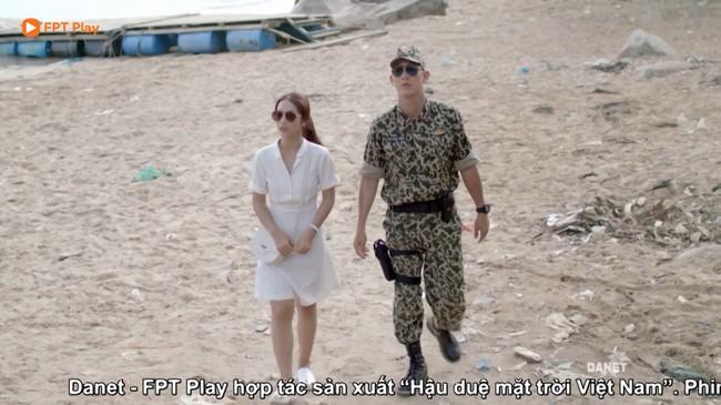 Có tâm như Khả Ngân: Đóng phim remake là cũng diện luôn trang phục giống Song Hye Kyo cho vẹn toàn - Ảnh 5.
