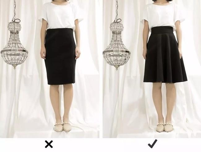 """Đùi to hay chân cong không còn đáng sợ nếu bạn biết bí kíp chọn ra kiểu váy """"nịnh dáng"""" nhất - Ảnh 7."""