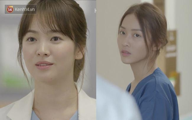 Có tâm như Khả Ngân: Đóng phim remake là cũng diện luôn trang phục giống Song Hye Kyo cho vẹn toàn - Ảnh 6.