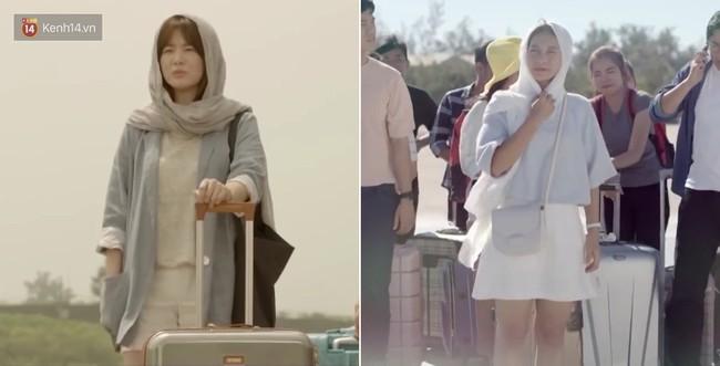 Có tâm như Khả Ngân: Đóng phim remake là cũng diện luôn trang phục giống Song Hye Kyo cho vẹn toàn - Ảnh 8.