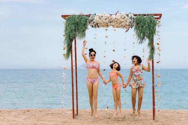 42 tuổi, danh hài Thúy Nga vẫn tự tin diện bikini khoe dáng sexy trên bãi biển - Ảnh 3.
