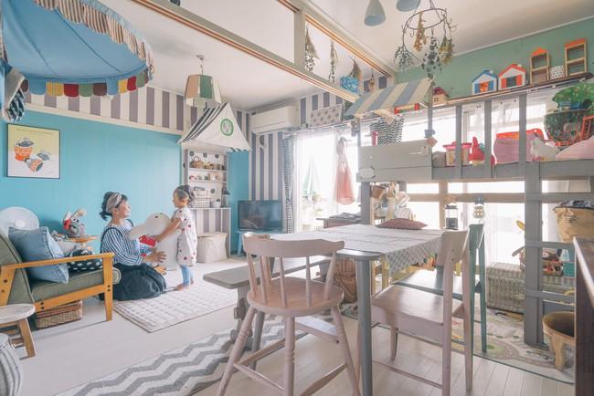 Căn hộ tràn ngập sắc màu hạnh phúc, góc nào cũng vô cùng đặc biệt của bà mẹ đơn thân với 2 con nhỏ ở Tokyo, Nhật Bản - Ảnh 1.