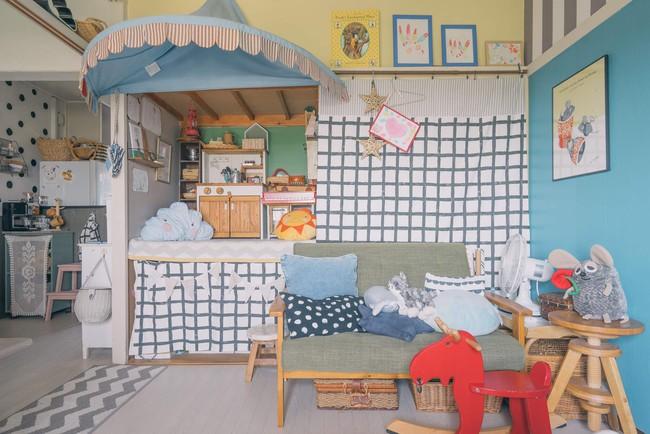Căn hộ tràn ngập sắc màu hạnh phúc, góc nào cũng vô cùng đặc biệt của bà mẹ đơn thân với 2 con nhỏ ở Tokyo, Nhật Bản - Ảnh 7.