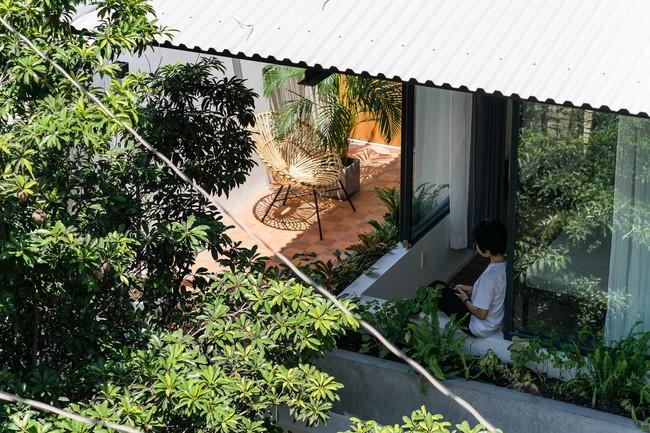 Ngôi nhà cấp 4 hóa biệt thự sân vườn đẹp thuyết phục tại Sài Gòn - Ảnh 21.
