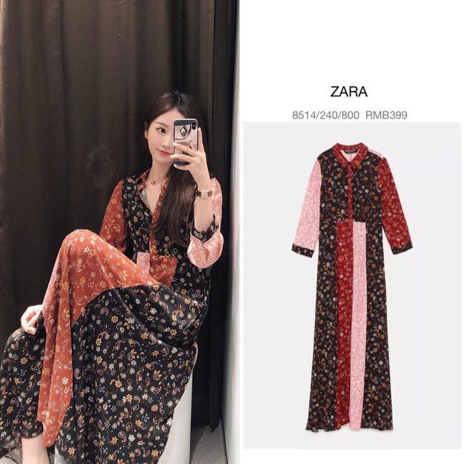 10 mẫu váy dài tay hot hit từ Zara đang được các tín đồ thời trang diện nhiệt tình khi trời se lạnh - Ảnh 1.