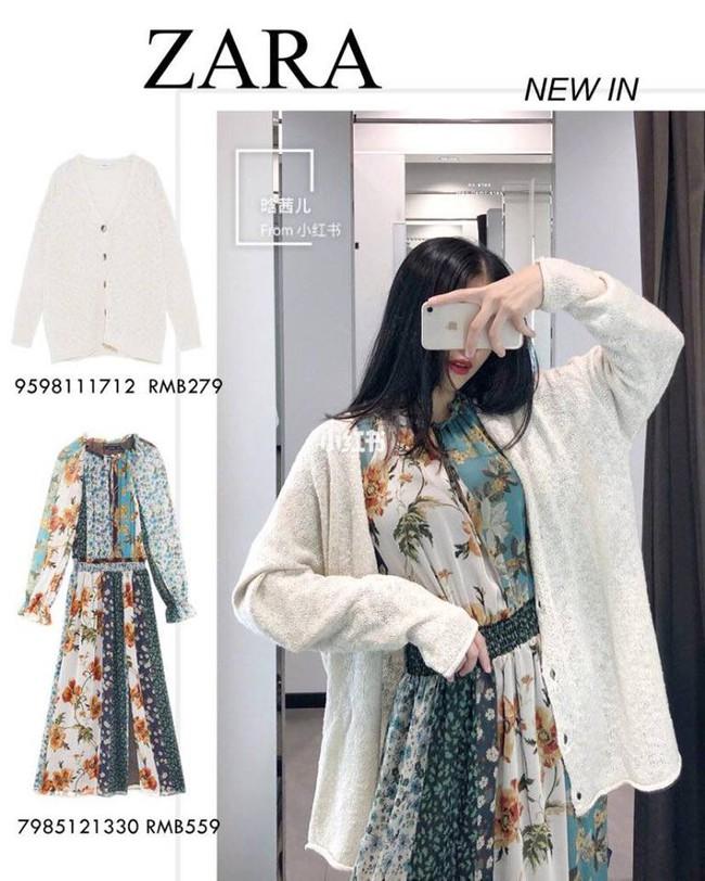 10 mẫu váy dài tay hot hit từ Zara đang được các tín đồ thời trang diện nhiệt tình khi trời se lạnh - Ảnh 2.