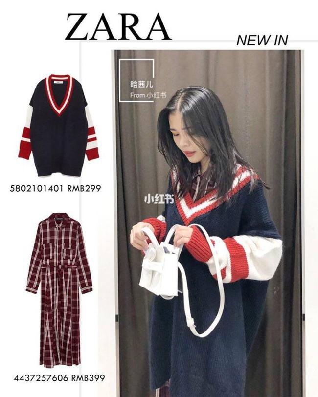 10 mẫu váy dài tay hot hit từ Zara đang được các tín đồ thời trang diện nhiệt tình khi trời se lạnh - Ảnh 5.