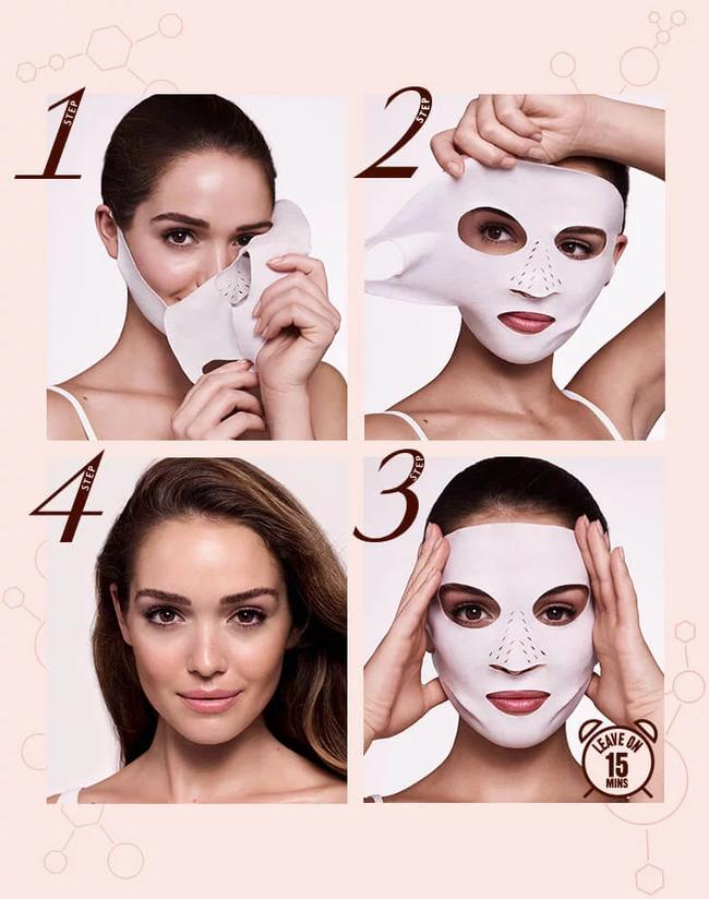 Không thích các loại mặt nạ giấy ướt nhẹp, các nàng có thể đổi gu sang dùng mặt nạ khô cực tiện này  - Ảnh 4.