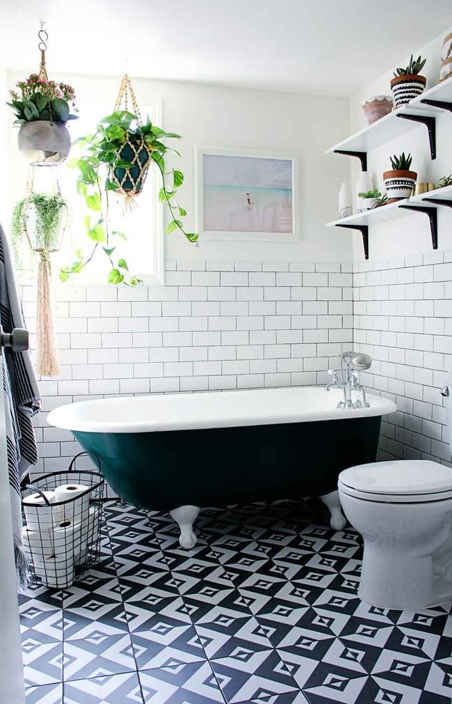 Đem cây xanh vào phòng tắm, xu hướng đang hot hiện nay, trông thì rườm rà nhưng lại đơn giản hơn bạn nghĩ! - Ảnh 9.