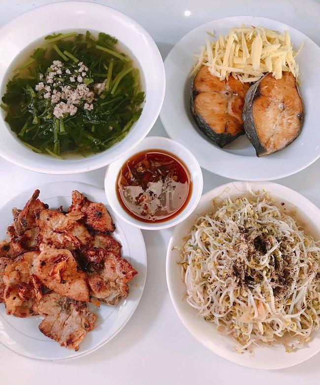 Mục sở thị mâm cơm nhà tự nấu của nữ diễn viên xinh đẹp Quỳnh Thư - Ảnh 10.