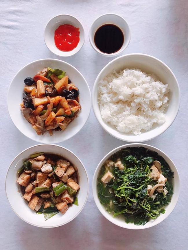 Mục sở thị mâm cơm nhà tự nấu của nữ diễn viên xinh đẹp Quỳnh Thư - Ảnh 9.