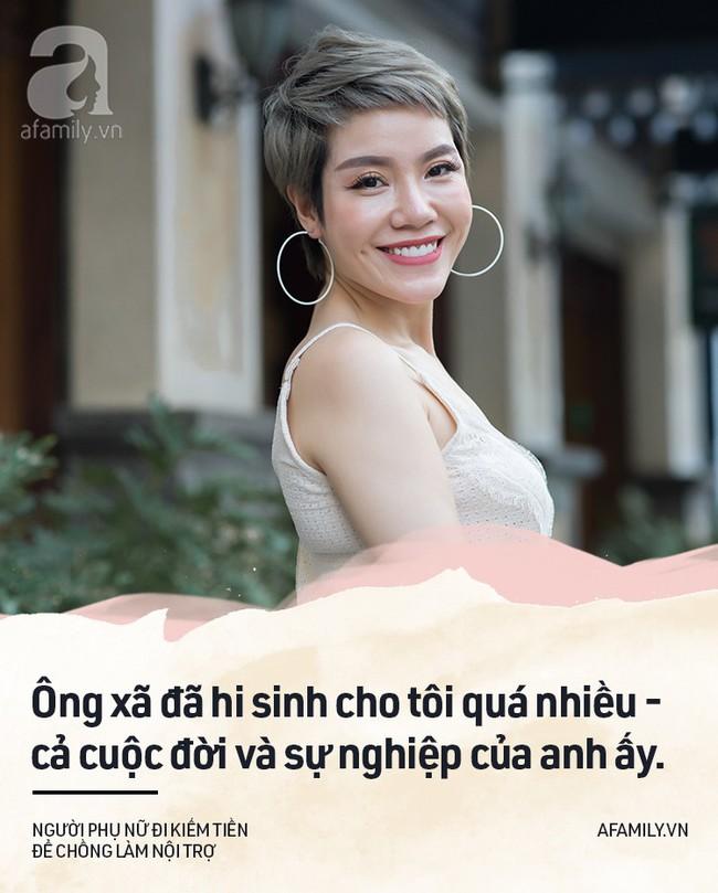 Chuyện của Vân Anh Trần - người đàn bà đẹp chọn việc xây nhà, nhường chồng lui về hậu phương xây tổ ấm - Ảnh 5.