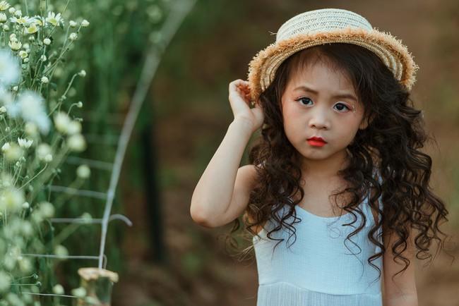 Đã xinh lại thần thái, bé gái Hà Nội dạo chơi trong vườn cúc họa mi khiến ai đi qua cũng phải ngoái nhìn - Ảnh 20.