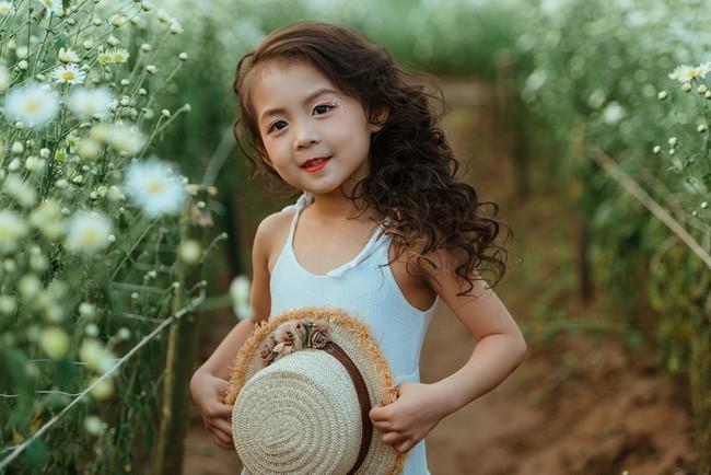 Đã xinh lại thần thái, bé gái Hà Nội dạo chơi trong vườn cúc họa mi khiến ai đi qua cũng phải ngoái nhìn - Ảnh 21.