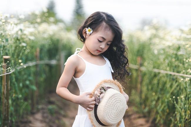 Đã xinh lại thần thái, bé gái Hà Nội dạo chơi trong vườn cúc họa mi khiến ai đi qua cũng phải ngoái nhìn - Ảnh 26.