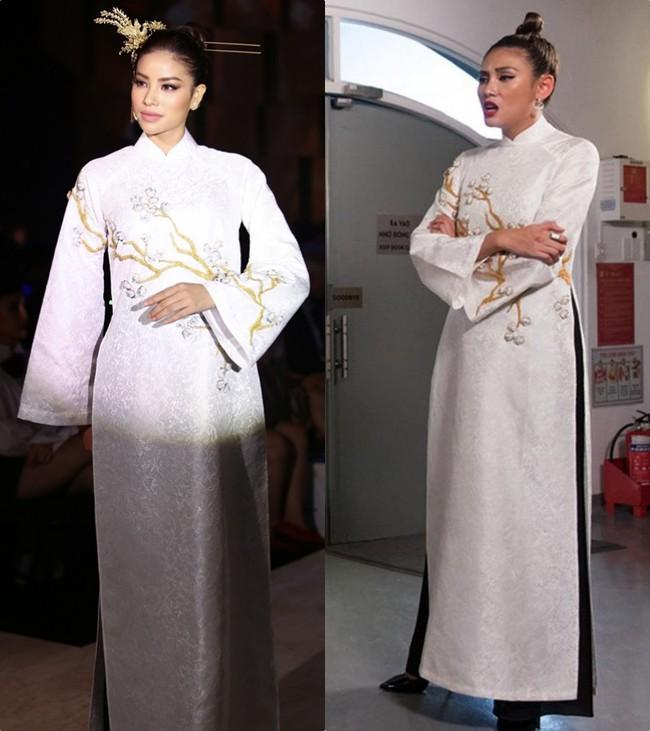 Uy nghiêm, sắc lạnh là thế nhưng Võ Hoàng Yến vẫn lép vế trước Phạm Hương khi đụng hàng tà áo dài trắng  - Ảnh 9.