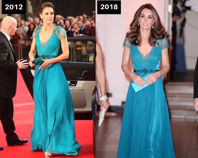 Thời gian Công nương Kate diện lại đồ cũ có khi lên đến vài năm, nhưng lạ thay chúng vẫn vẹn nguyên tính thời trang - Ảnh 1.