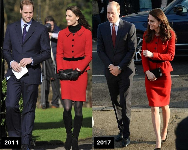 Thời gian Công nương Kate diện lại đồ cũ có khi lên đến vài năm, nhưng lạ thay chúng vẫn vẹn nguyên tính thời trang - Ảnh 5.