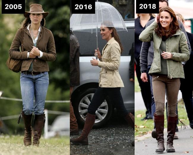 Thời gian Công nương Kate diện lại đồ cũ có khi lên đến vài năm, nhưng lạ thay chúng vẫn vẹn nguyên tính thời trang - Ảnh 2.