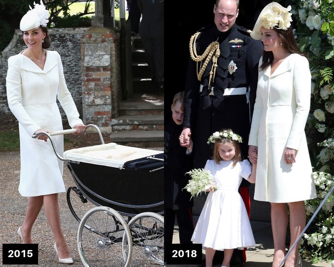 Thời gian Công nương Kate diện lại đồ cũ có khi lên đến vài năm, nhưng lạ thay chúng vẫn vẹn nguyên tính thời trang - Ảnh 3.