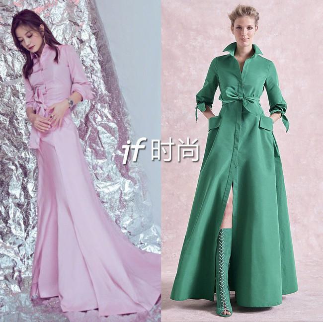 Triệu Vy mặc váy lùng bùng vẫn chẳng ngại làm điều khiến netizen nể phục - Ảnh 4.
