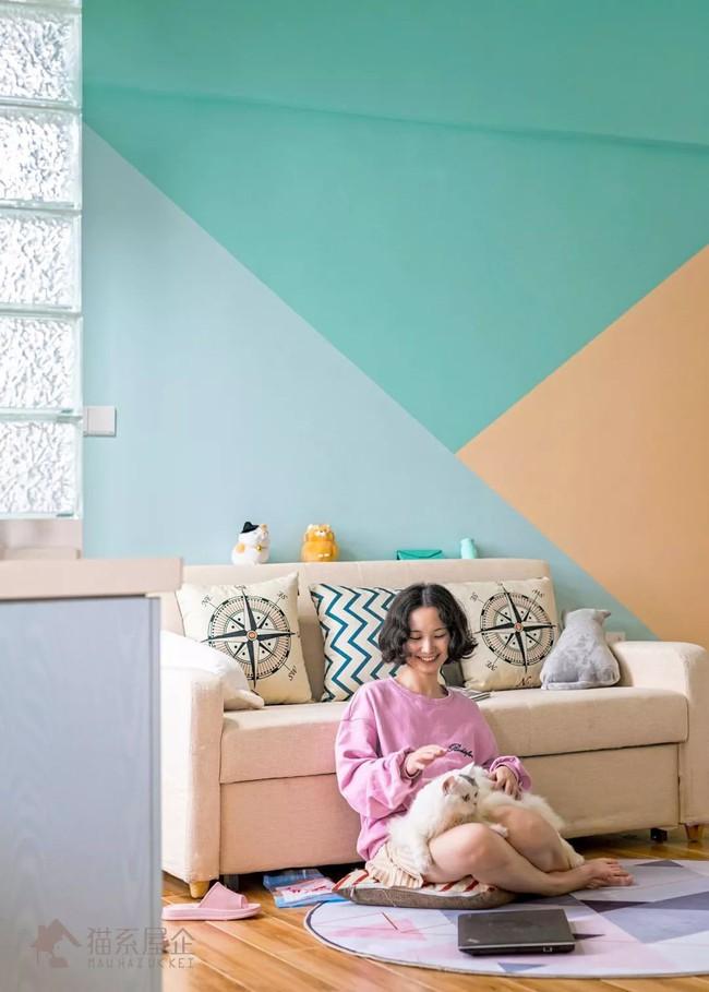 Căn hộ tập thể cũ 33m² đẹp đến khó tin khi được cô gái 25 tuổi tự lên ý tưởng cải tạo, trang trí - Ảnh 3.