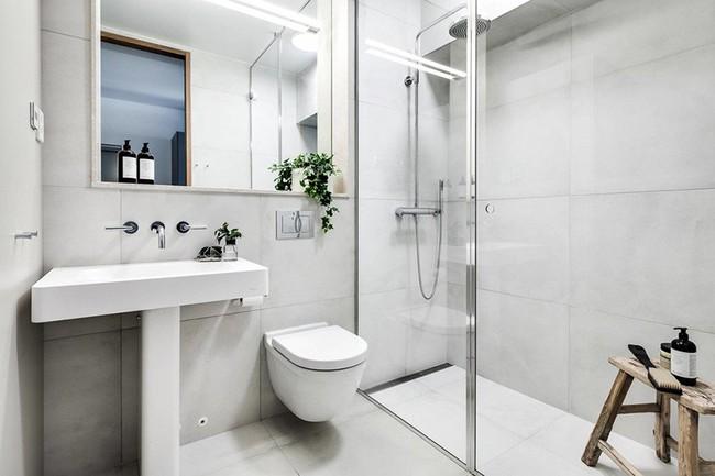 Cứ nhẹ nhàng, đơn giản như những căn phòng tắm Scandinavian cũng đủ khiến biết bao người phải say đắm - Ảnh 10.