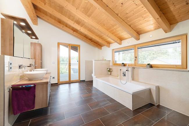 Cứ nhẹ nhàng, đơn giản như những căn phòng tắm Scandinavian cũng đủ khiến biết bao người phải say đắm - Ảnh 14.