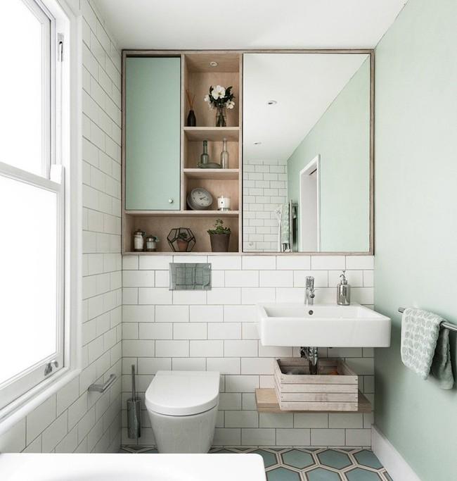 Cứ nhẹ nhàng, đơn giản như những căn phòng tắm Scandinavian cũng đủ khiến biết bao người phải say đắm - Ảnh 16.