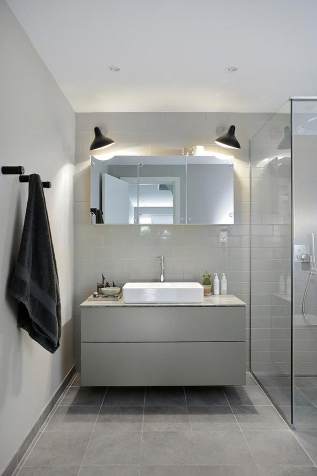 Cứ nhẹ nhàng, đơn giản như những căn phòng tắm Scandinavian cũng đủ khiến biết bao người phải say đắm - Ảnh 5.