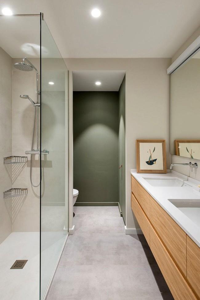 Cứ nhẹ nhàng, đơn giản như những căn phòng tắm Scandinavian cũng đủ khiến biết bao người phải say đắm - Ảnh 7.