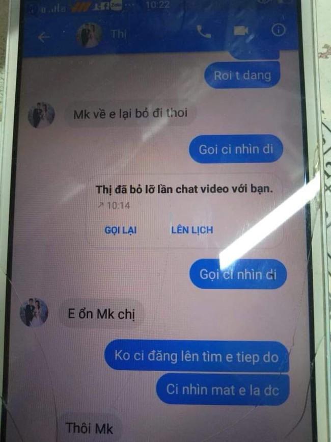 Cô gái xinh đẹp sắp cưới mất tích: Xuất hiện tin nhắn Facebook gửi về nhưng nhất định không cho xem mặt qua ứng dụng chat video - Ảnh 3.