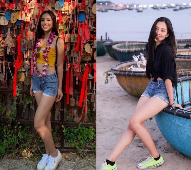 Tự tin khoe dáng như HH Tiểu Vy, diện luôn combo yêu thích từ thời nữ sinh đi thi Miss World 2018 mới chất - Ảnh 6.