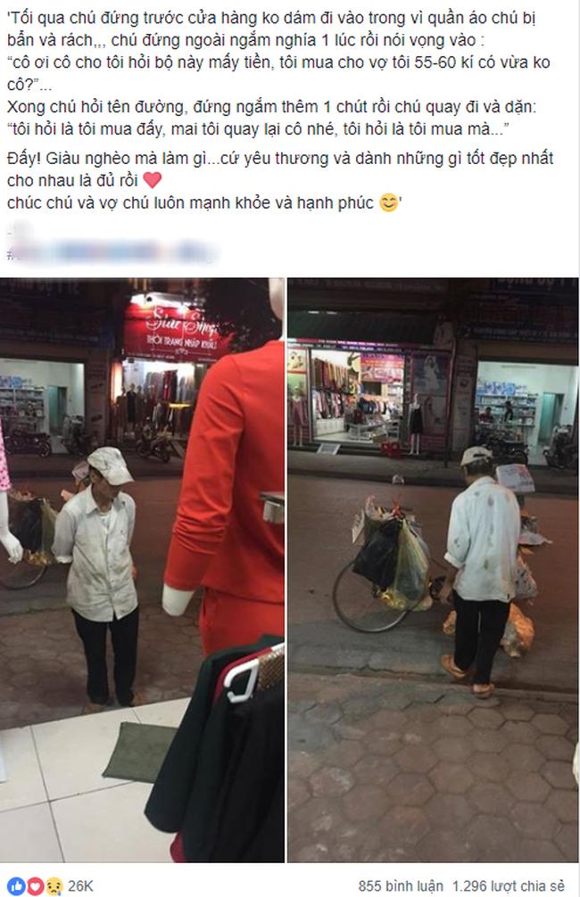 Lời hứa của người chồng nghèo trước shop thời trang và câu chuyện phía sau khiến chị em ôm tim cảm động