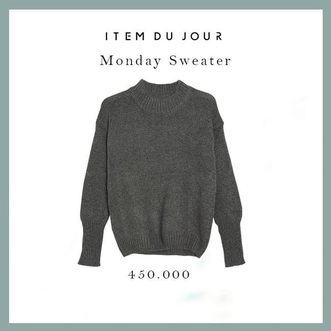18 mẫu áo len mỏng đến từ các thương hiệu Việt khiến bạn say như điếu đổ và muốn sắm ngay trong mùa lạnh này - Ảnh 15.