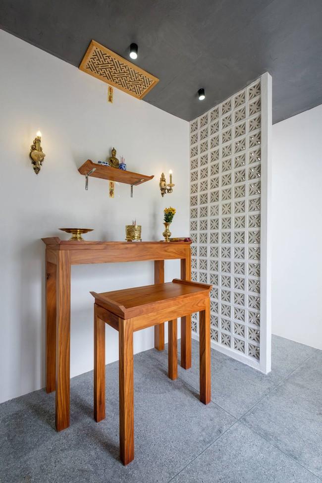 Ở đất Quảng Bình đầy nắng và gió vẫn xuất hiện ngôi nhà đẹp hoàn mỹ dù chỉ dùng gạch xây nhà để trang trí - Ảnh 14.