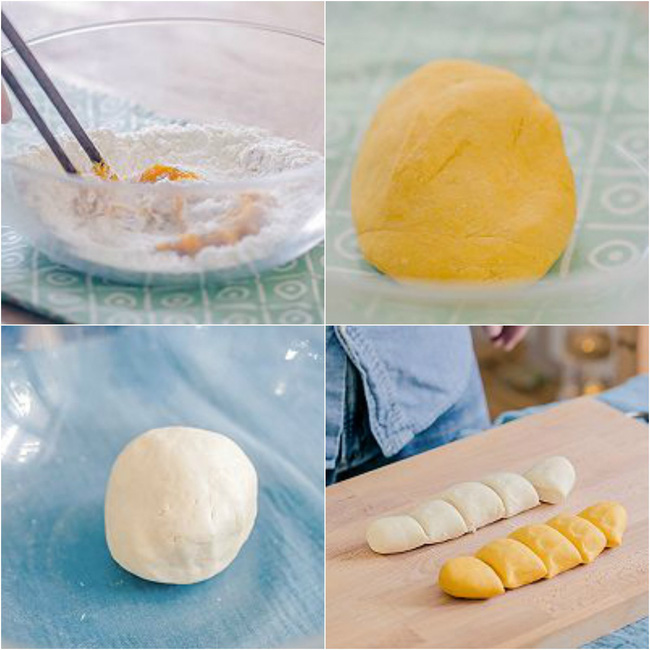 Mẹ khéo tay làm trái chuối như thật từ bí ngô, bé nhìn thấy chắc chắn thích mê - Ảnh 2.