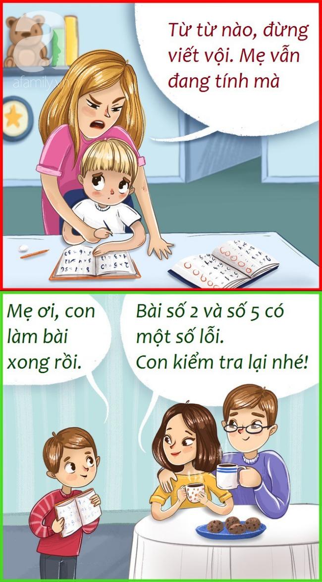 Bí quyết của cha mẹ thông thái giúp con đứng đầu lớp về thành tích học tập: Hướng dẫn thay vì làm hộ - Ảnh 1.