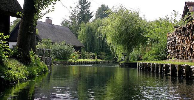 Những ngôi nhà ven sông xinh xắn, dịu dàng đẹp đến nao lòng ở làng quê nước Đức - Ảnh 6.