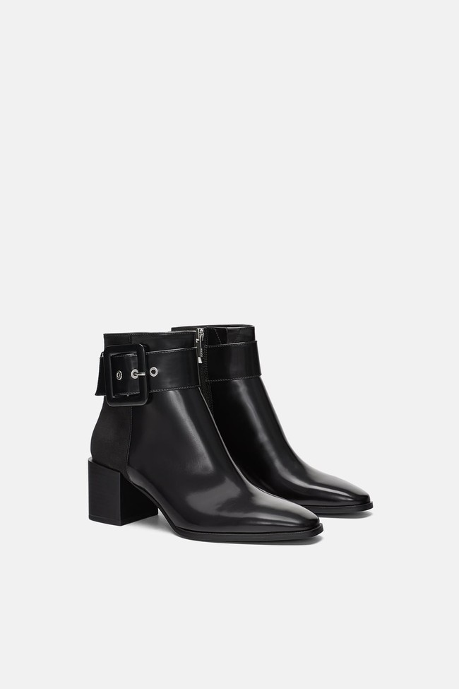 15 đôi boots đến từ Zara sẽ giúp mọi set đồ mùa lạnh của các nàng tăng thêm vài phần sang xịn - Ảnh 10.